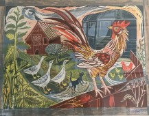 Rooster_and_Railway_Carriage_Mark_hearld