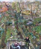 Back Gardens from the Artist's Studio