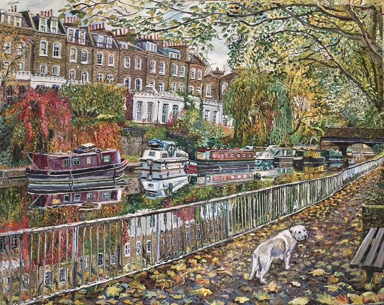 Melissa Scott Miller Regents Canal in Autumn