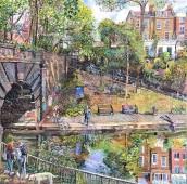 Melissa Scott Miller Regents Canal in Summer