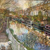 Scott Miller Regents Canal in Winter (2)